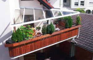 Terrassendach - dreieckig