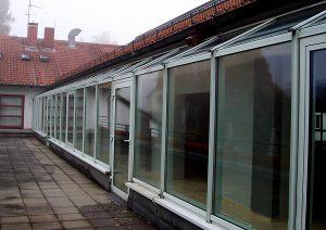 Stadthalle Kelkheim Fensterfassade