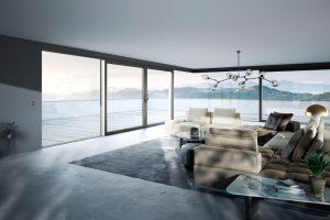 Aluminium Schiebetürsysteme für den Wohnbereich